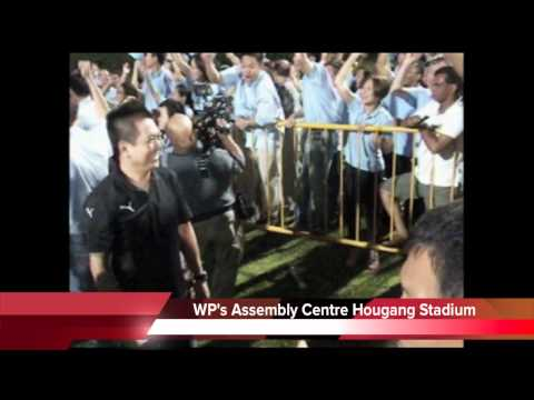 GE 2011, Worker's Party Assembly Centre - Hougang Stadium