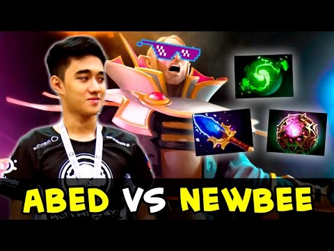 Abed epic Invoker comeback vs Newbee — Kiev Major