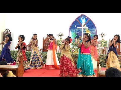 Chinna Manushanukkulla Dance | Karunalaya Kids | சின்ன மனுஷனுக்குள்ள பெரிய ஆண்டவர் வந்தா