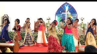 Chinna Manushanukkulla Dance   Karunalaya Kids   சின்ன மனுஷனுக்குள்ள பெரிய ஆண்டவர் வந்தா