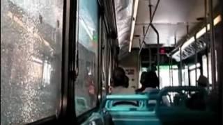 BUS RIDE ON BOARD MIAMI DADE TRANSIT