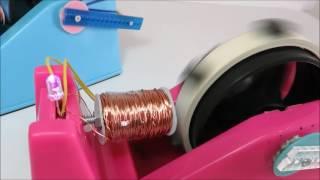 リードスイッチモーター (フェライト磁石編)