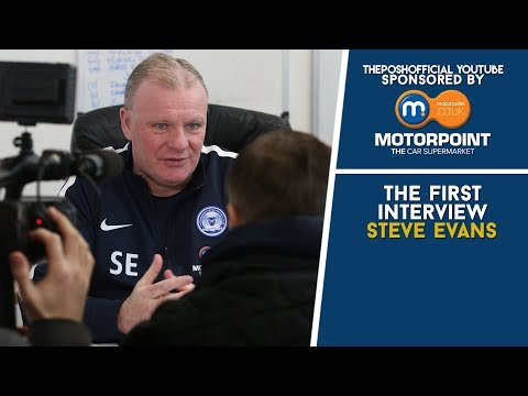 THE FIRST INTERVIEW | Steve Evans