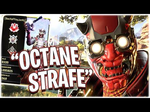 The OCTANE STRAFE!! (Apex Legends PS4)