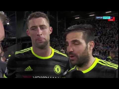 Cesc Fabregas Drops The 'F Bomb' on Live TV After Chelsea FC Title Win