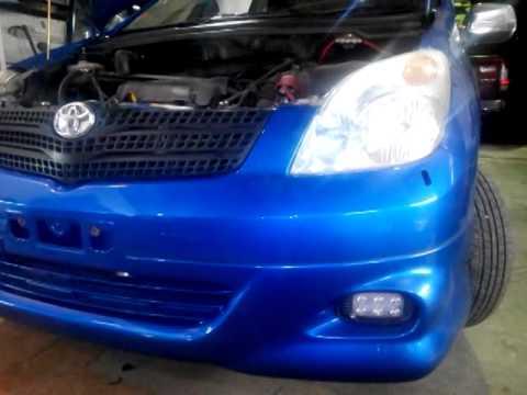 Светодиодные фары в бампер Ledotex Toyota Spacio