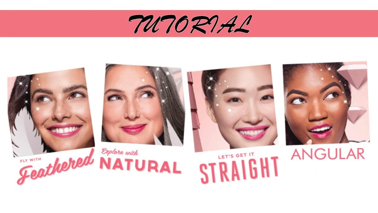 How to Use the MakeUp Plus App To Try Four Brow Styles with Benefit Cosmetics