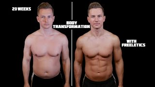 Insane Body Transformation | 20 weeks with Freeletics | 4K