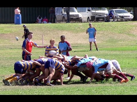 South Coast v Sunshine Coast - Final Qld Schools 16-18yrs Rugby Champs 2015 - Second Half