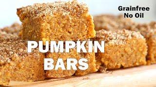 VEGAN GLUTEN-FREE PUMPKIN BARS - No Oil, Grainfree | Vegan Richa Recipes