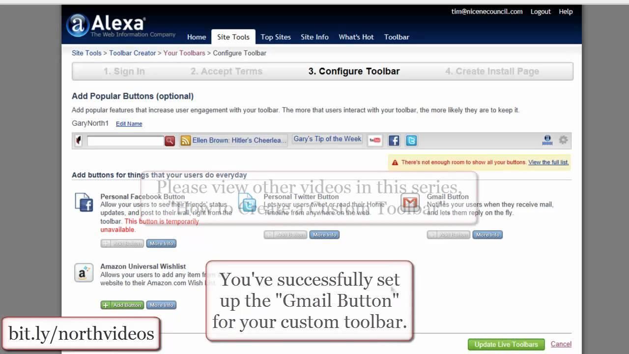 Custom themes for gmail - How To Create A Custom Toolbar How To Add A Gmail Button To A Custom Toolbar 10