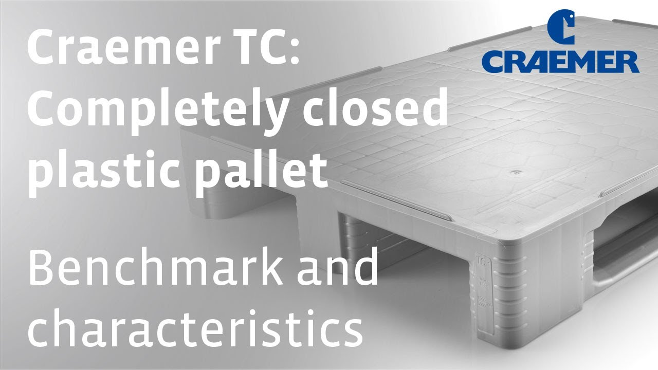 TC Closed Deck Plastic Pallet