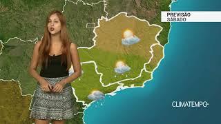 Previsão Sudeste - Frente fria passa pelo RJ