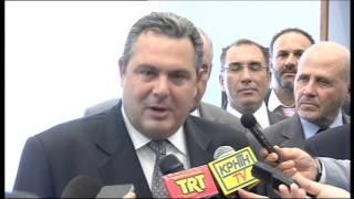 Δηλώσεις Πάνου Καμμένου μετά τη συνάντηση με Αλ. Τσίπρα