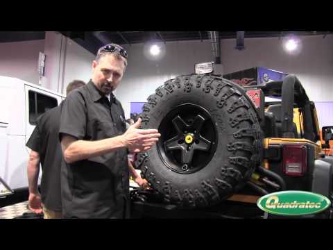 Quadratec at the SEMA Show: AEV Pintler Wheel