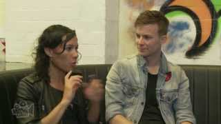 Matt And Kim discuss fave songs, underwear and booty shaking | Moshcam