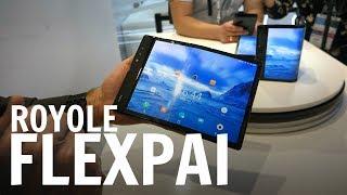 Royole FlexPai: smartphone flessibile, ma da rifinire! Guardatelo in video