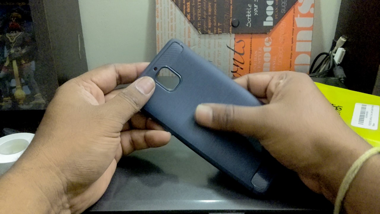 sale retailer 94e22 54464 FOSO(™) OnePlus 3 / OnePlus 3T Carbon Fiber Shock Proof Rugged Armor Case  with Metallic Brush Finish