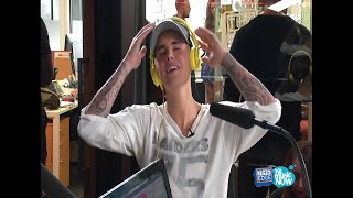Justin Bieber on SMASH! The Edge interview with Marty & Steph | Auckland New Zealand October 1 2015