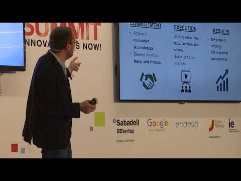 SOUTH SUMMIT 2017- Presentation of ENEL Innovation Hub Madrid