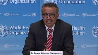 Live from WHO Headquarters - coronavirus - COVID-19 daily press briefing 08 April 2020