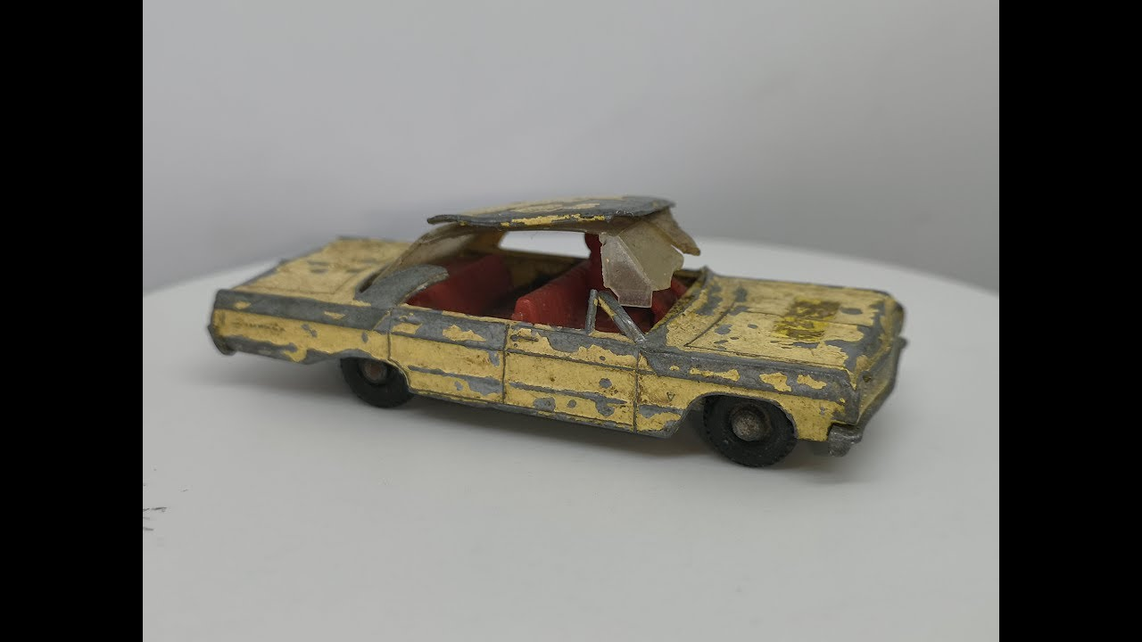 Matchbox No 20 Chevrolet Impala Taxi - Restoration Video