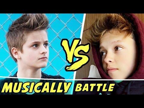 The Best Jacob Sartorius VS Mark Thomas Musically (Musical.ly) 2016