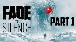 NEW SURVIVAL GAME 2018? Fade To Silence Gameplay Part 1 + FREE GIVEAWAY