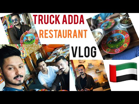 Truck Adda Restaurant JLT | Dubai | Best Restaurant Ever | Vlog | Cranky Shoaib.