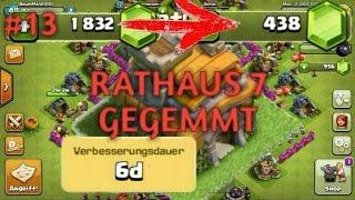 Let's Play Clash of Clans #13 Rathaus 7 GEGEMMT!!! [Deutsch/German] BaumMan2000
