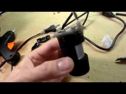 """Делаем USB """"микроскоп"""" для ремонта электроники"""