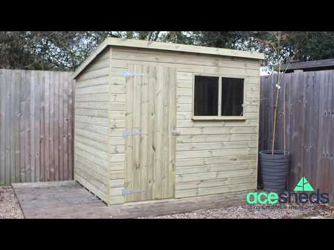 essex pent garden shed
