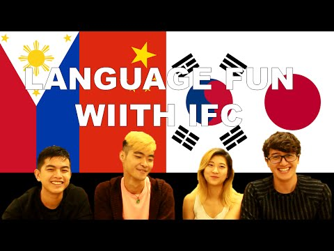 Tagalog Chinese Korean Japanese Common Phrases