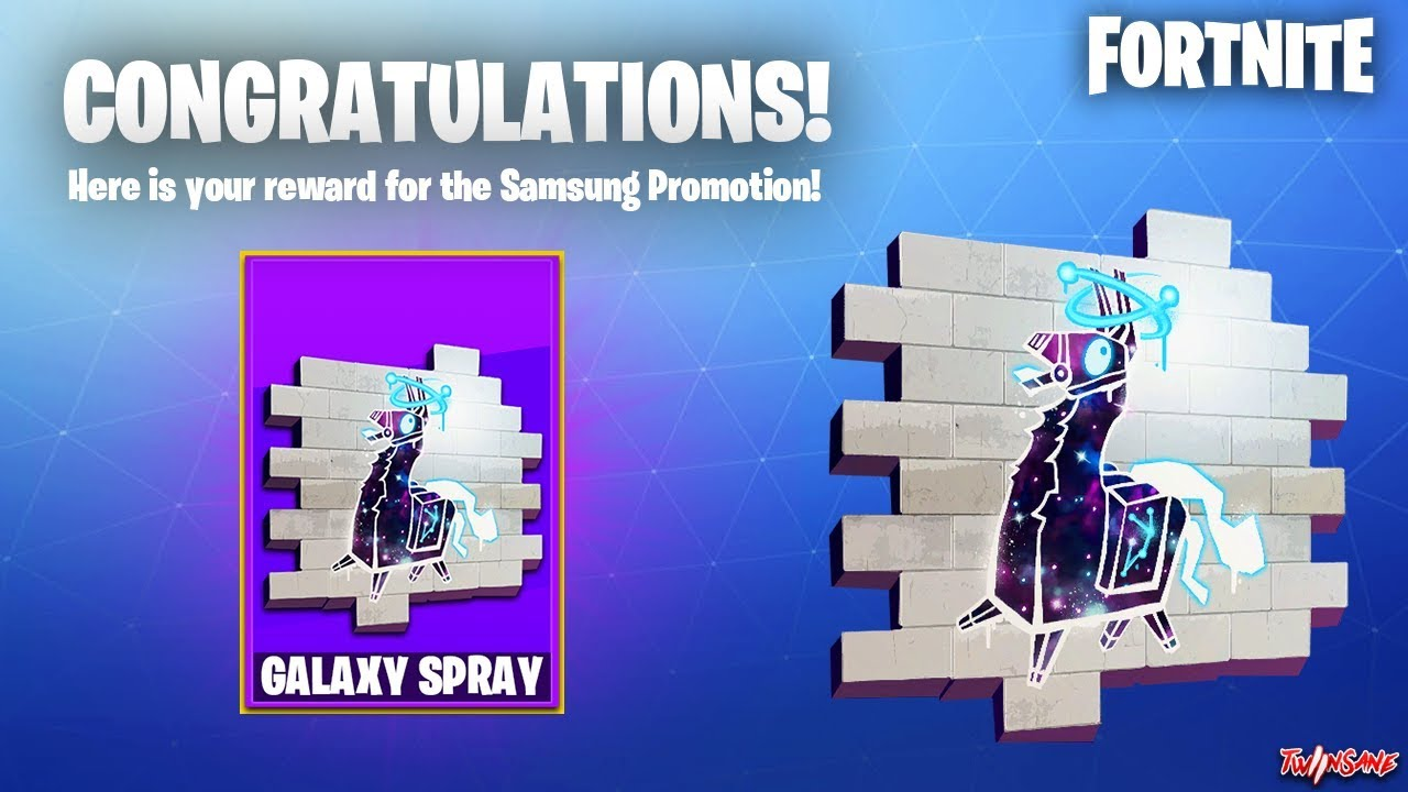 All Clip Of How To Get The Galaxy Llama Spray Fortnite