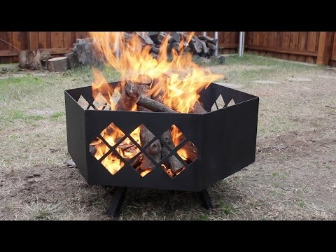 Building a Custom Steel Fire Pit