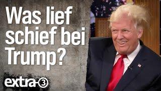 Was lief schief im Leben von Donald Trump?