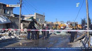 Семье погибшей при взрыве в кафе Нур-Султана выплатят 1 млн тенге