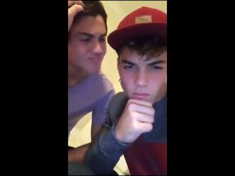09/23/2015 - 09/29/2015 Dolan Twins' Snapchat stories compilation