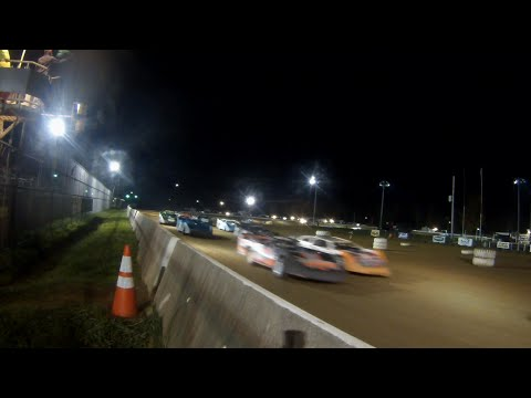 ULMS Super Late Model Feature | Track Side Camera | McKean County Raceway | 10.10.14