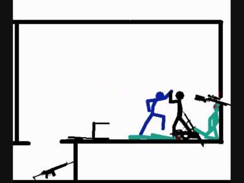 The Black Stick - Stickman fight - YouTube