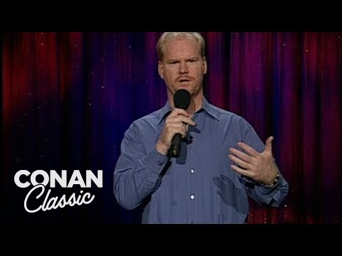 "Jim Gaffigan On Hanging Out With Beautiful People - ""Late Night With Conan O&39;Brien"""