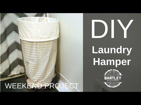 DIY Laundry Hamper