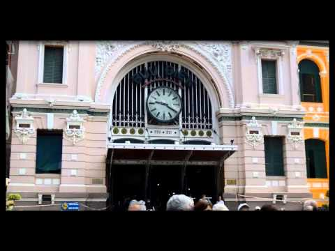 Tham quan Bưu điện trung tâm Tp Hồ Chí Minh