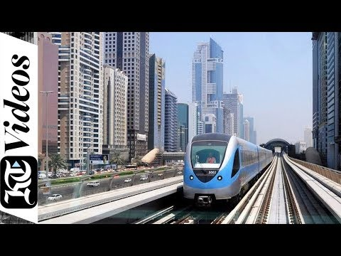 How Dubai Metro runs the world's longest driverless train system