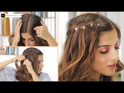how-to-do-a-waterfall-braid-|-hairstyles-for-long/medium/short-hair-|-knot-me-pretty-|-be-beautiful