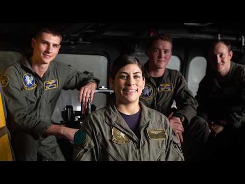 Experience as a Naval Aircrewman aboard USS John C. Stennis