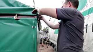 Торгова палатка 5х6 м, тентовий торговий павільйон