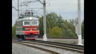 Парад локомотивов в Щербинке