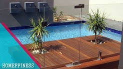 (NEW DESIGN 2017) 20+ Modern Swimming Pool Safety Fence Ideas