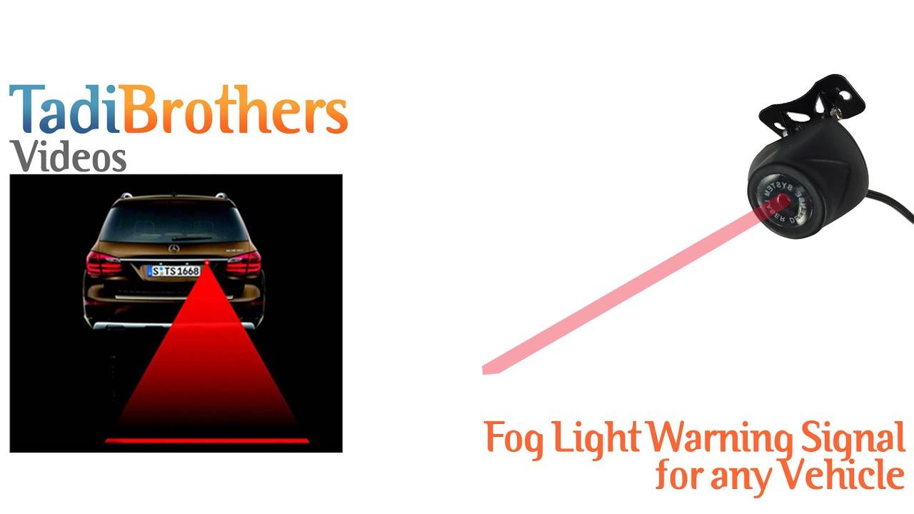 Motorcycle Rear Fog Light Kit American Bathtub Refinishers Universal Wiring Harness Ebay